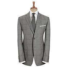 Buy Paul Costelloe Window Check Jacket, Grey Online at johnlewis.com