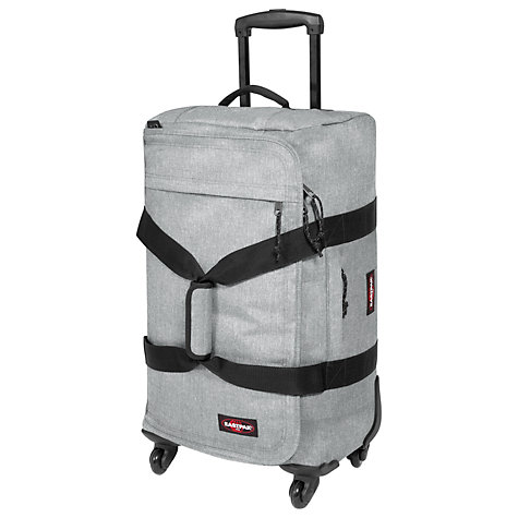Buy Eastpak Spinnerz 4-Wheel Holdall, Grey Online at johnlewis.com