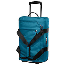 Buy Eastpak Spins 2-Wheel Holdall, Petrol Online at johnlewis.com