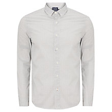 Buy JOHN LEWIS & Co. Long Sleeve Vintage Geo Shirt Online at johnlewis.com