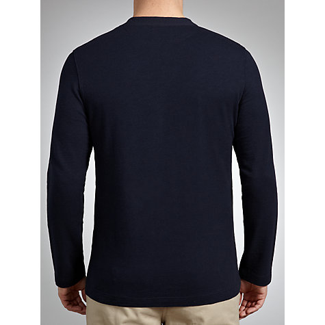 Buy JOHN LEWIS & Co. Long Sleeve Slub Grandad Top Online at johnlewis.com