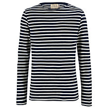 Buy JOHN LEWIS & Co. Vintage Long Sleeve Slub Stripe Top Online at johnlewis.com