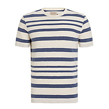 Buy JOHN LEWIS & Co. Engineered Stripe T-Shirt Online at johnlewis.com