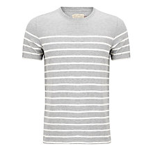 Buy JOHN LEWIS & Co. Short Sleeve Engineered Yoke T-Shirt Online at johnlewis.com