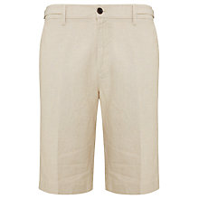 Buy John Lewis Smart Linen Stripe Adjustable Shorts Online at johnlewis.com