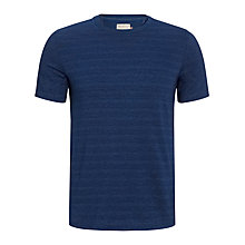 Buy JOHN LEWIS & Co. Crew Neck T-Shirt, True Indigo Online at johnlewis.com