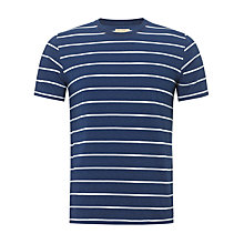 Buy JOHN LEWIS & Co. Short Sleeve Stripe Crew Neck T-Shirt Online at johnlewis.com