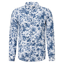 Buy John Lewis Linen Water Flower Print Shirt Online at johnlewis.com
