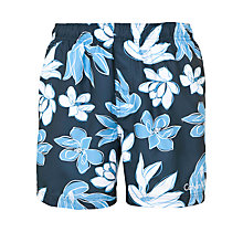 Buy Calvin Klein Floral Print Swim Shorts Online at johnlewis.com