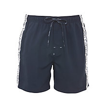 Buy Calvin Klein Logo Tape Swim Shorts Online at johnlewis.com