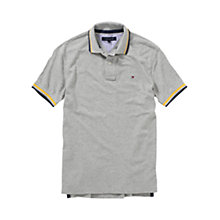 Buy Tommy Hilfiger Tarawa Polo Shirt, Cloud Online at johnlewis.com