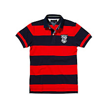Buy Tommy Hilfiger David Stripe Short Sleeve Polo Shirt Online at johnlewis.com