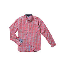 Buy Tommy Hilfiger Newark Check Shirt, Red Online at johnlewis.com