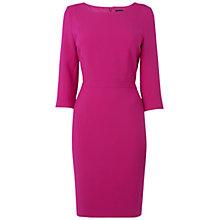 Buy Jaeger Marie Shift Dress, Pink Online at johnlewis.com