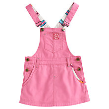 Buy Little Joule Danielle Dungaree Skirt, Candy Online at johnlewis.com