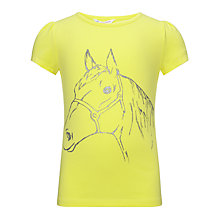 Buy John Lewis Girl Horse Graphic T-Shirt Online at johnlewis.com