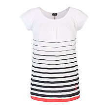 Buy Armani Jeans Stripe Trimmed T-Shirt, Multi Online at johnlewis.com