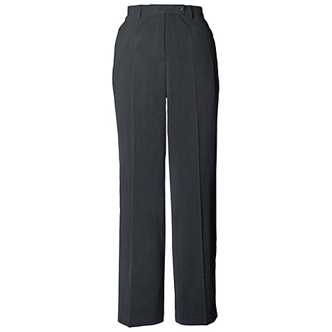 Buy Chesca Zip Pocket Trousers, Charcoal Online at johnlewis.com