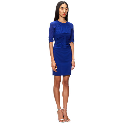 Buy Whistles Bella Bodycon Dress, Blue Online at johnlewis.com