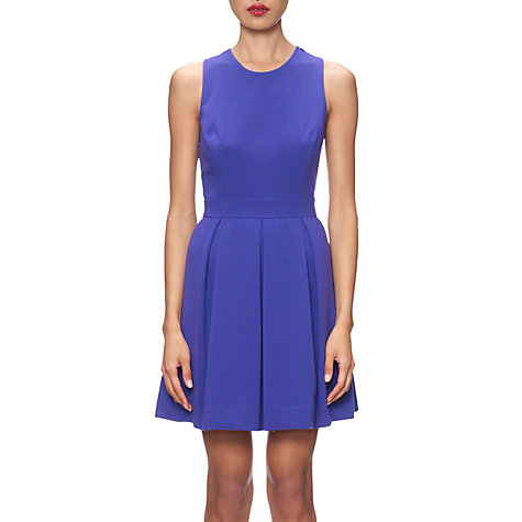 Buy Whistles Jessamine Lace Back Dress, Purple Online at johnlewis.com