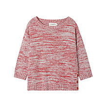 Buy Seasalt Saltbeach Jumper, Tweed Tomato Online at johnlewis.com