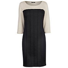 Buy James Lakeland 3/4 Sleeve Dress, Black/Beige Online at johnlewis.com