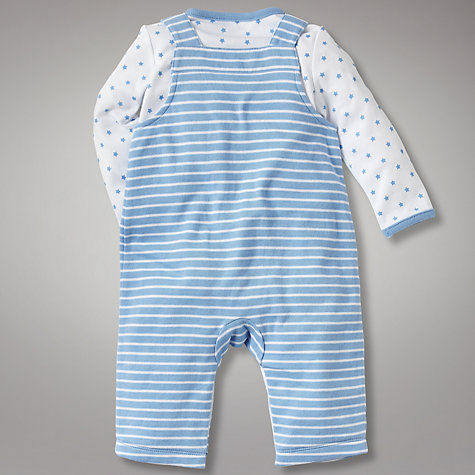 Buy John Lewis Baby Layette Dungaree Set Online at johnlewis.com