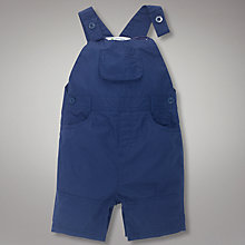 Buy John Lewis Poplin Dungarees Online at johnlewis.com