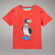 Buy John Lewis Bird T-Shirt, Orange Online at johnlewis.com