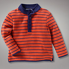 Buy John Lewis French Rib Striped Top Online at johnlewis.com
