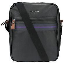 Buy Ted Bake Tohop Flight Bag, Black Online at johnlewis.com