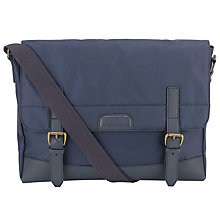 Buy Ted Baker Luchett Messenger Bag, Navy Online at johnlewis.com