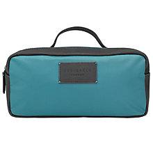 Buy Ted Baker Splassh Nylon Washbag, Teal Online at johnlewis.com