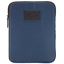 Buy Ted Baker Nylon Tablet Case, Navy Online at johnlewis.com