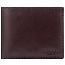 Buy Ted Baker Trifold Coin Wallet, Brown Online at johnlewis.com