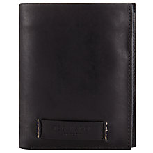 Buy Ted Baker Tallrw Leather Bi-Fold Wallet, Black Online at johnlewis.com