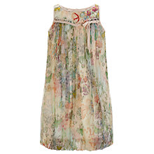 Buy Derhy Kids Butterfly Voile Dress, Pink Online at johnlewis.com