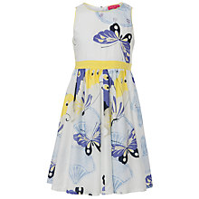 Buy Derhy Kids Oriental Butterfly Dress, Blue Online at johnlewis.com