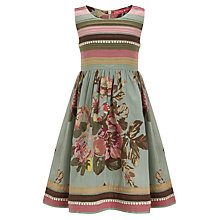 Buy Derhy Kids Summer Garden Dress, Khaki Online at johnlewis.com