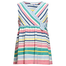 Buy John Lewis Girl Striped Cross-Over Top, Multi Online at johnlewis.com