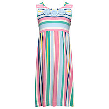Buy John Lewis Girl Striped Dress, Multi Online at johnlewis.com