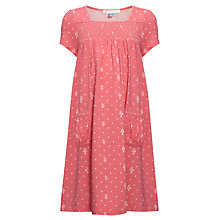 Buy John Lewis Girl Smock Dress, Pink Online at johnlewis.com