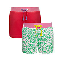 Buy John Lewis Girl Shorts, Pack of 2 Online at johnlewis.com