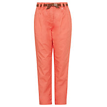 Buy John Lewis Girl Chinos, Coral Online at johnlewis.com