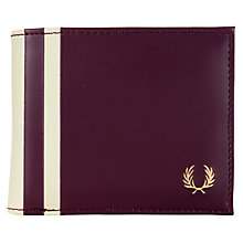 Buy Fred Perry Flip Stipe Wallet Online at johnlewis.com