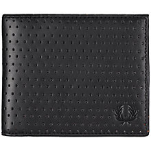 Buy Fred Perry Perforated Bifold Wallet Online at johnlewis.com