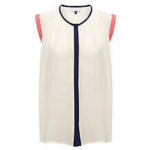 Buy COLLECTION by John Lewis Lexi Blouse, Cream Online at johnlewis.com