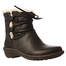 Buy UGG Caspia Sheepskin Lined Leather Ankle Boots Online at johnlewis.com