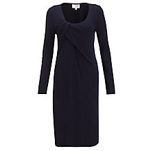 Buy allegra by Allegra Hicks Camellia Dress, Navy Online at johnlewis.com