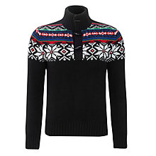 Buy Polo Ralph Lauren Toggle Button Jumper, Black Online at johnlewis.com